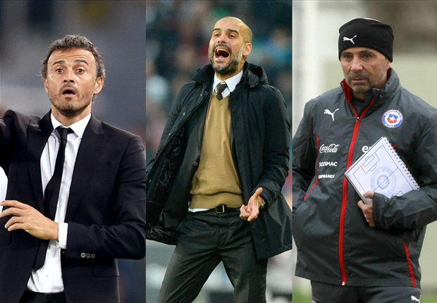 Luis Enrique, Guardiola or Sampaoli - who should win Fifa World Coach of the Year?