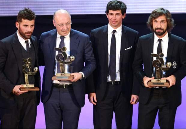 Gran Galà del calcio AIC, ecco tutti i premi: poche sorprese, miglior giocatore Pirlo, miglior allenatore Conte. Proclamata anche la Top 11