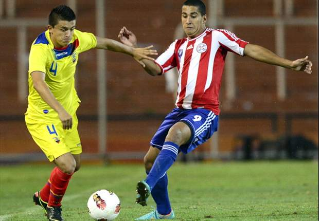 Paraguay con un pie en el mundial al vencer a Ecuador