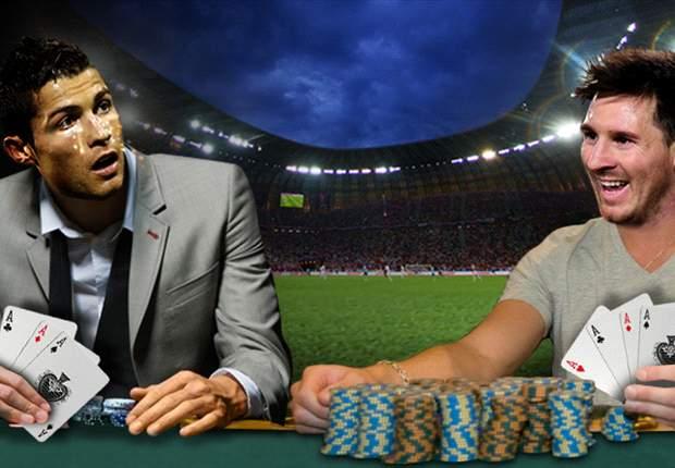 Leo Messi gana con un póker al trío de Cristiano