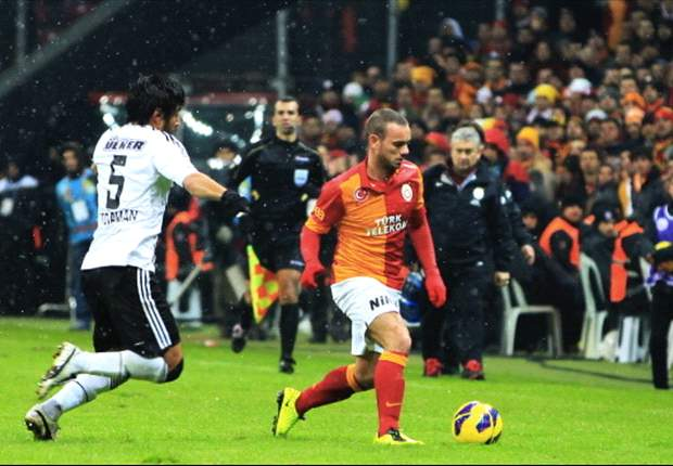 """Wesley Sneijder verspricht: """"Werde in jedem Spiel besser"""""""