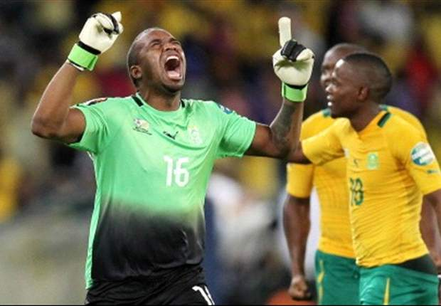 Heroic Bafana keeper Khune not impressed with his own performance