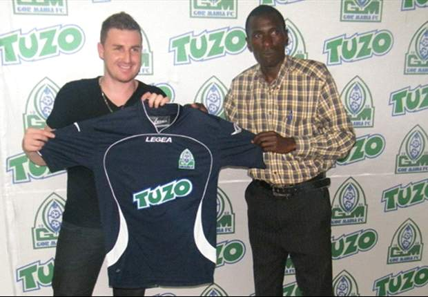 Gor Mahia's Brazilian reject Giovanni Rodriguez set to depart for home