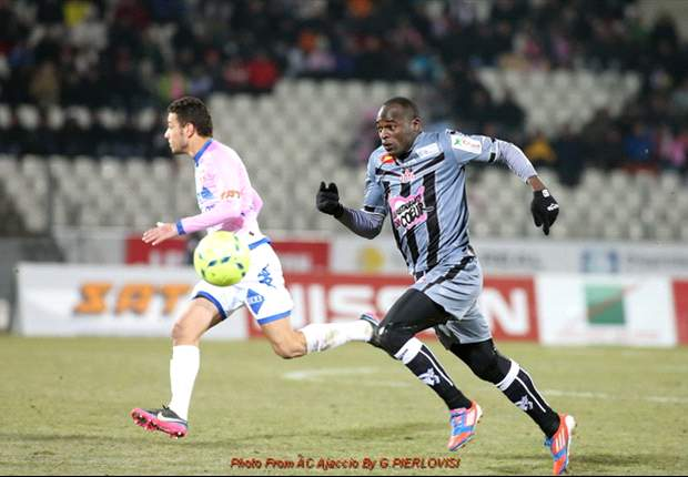 Kenya striker Dennis Oliech scores on debut as AC Ajaccio grab vital point