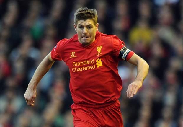 Kapten Liverpool Steven Gerrard Targetkan Empat Besar