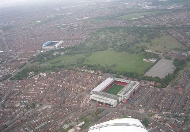 GALERI: Anfield Liverpool Versus Goodison Park Everton & Stadion Lainnya Yang Berdekatan Dengan Kandang Rival