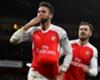Giroud & Ramsey Absen Vs Swansea