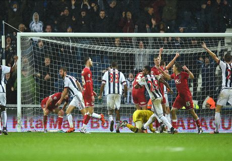 REPORT: West Brom 2-2 Bristol City