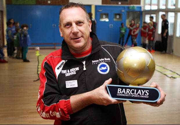 David Amiet named Barclays Community Sports Award winner for December
