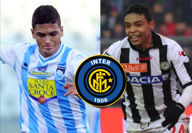 Exclusiva: Inter a la carga por dos colombianos