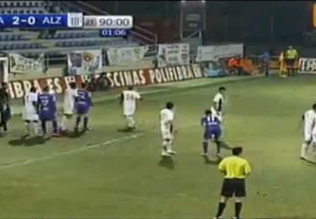 Alianza Lima fue goleado en España