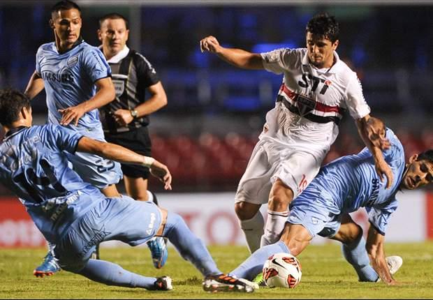 Bolívar remonta un partido increible pero Sao Paulo pasa la eliminatoria