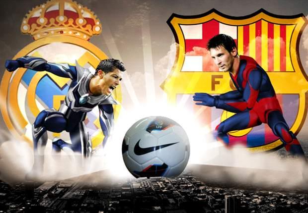Lucha de titanes entre Cristiano Ronaldo y Leo Messi