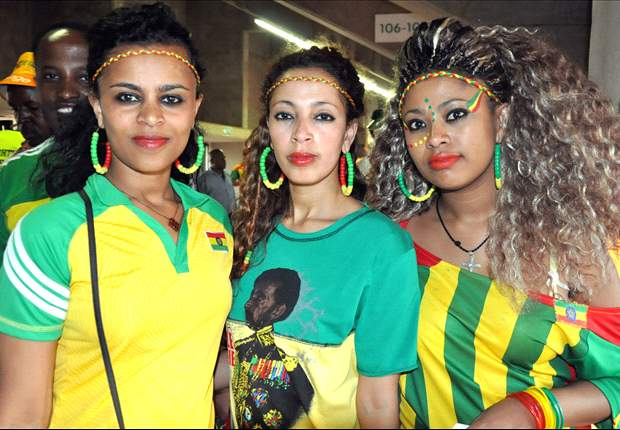 Goodbye to the vibrant Ethiopian fans – and their beautiful women