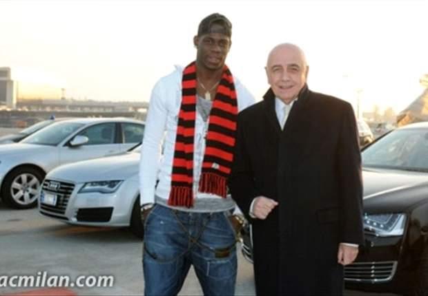 Mario Balotelli Bergabung, Fans Milan Buat Kericuhan