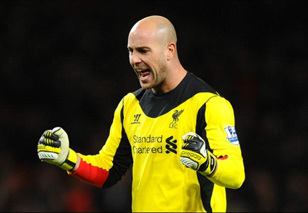 Reina is staying at Liverpool, says Rodgers