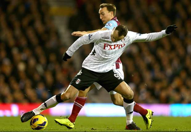 Fulham 3-1 West Ham: Birthday boy Berbatov on target for hosts