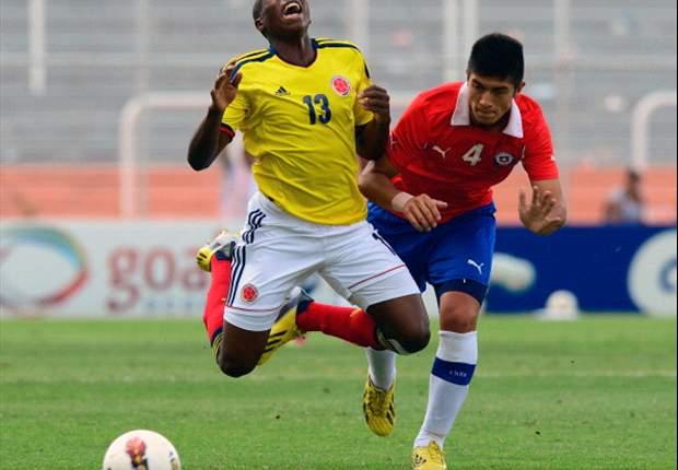 Colombia sigue de líder a pesar de la derrota