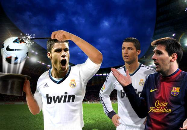Raphael Varane le robó el protagonismo a Cristiano Ronaldo y Lionel Messi