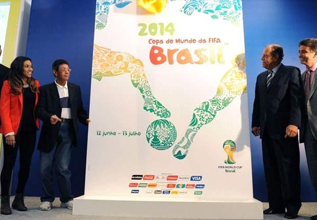 Presentan el póster oficial de Brasil 2014