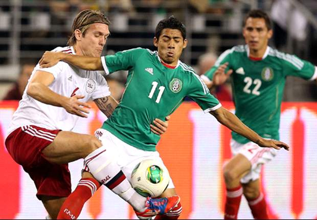 Mexico 1-1 Denmark: Penalties all around as Mexico draws 2013 opener