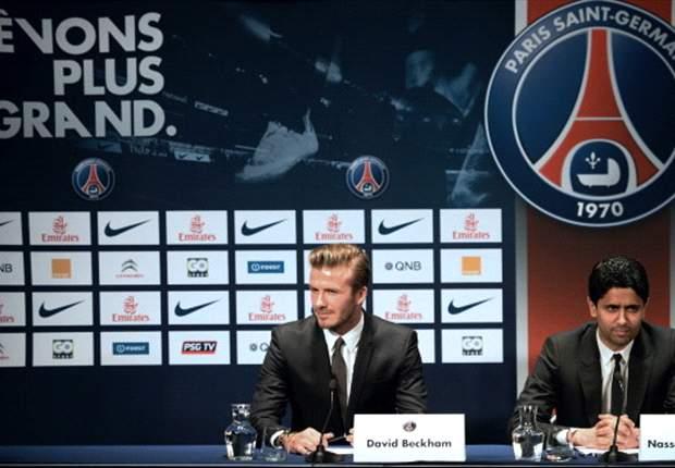 Beckham ya es jugador del PSG