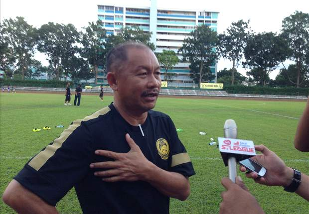 Harimau Muda B coach Razip Ismail: Playing in S.League is a tough challenge