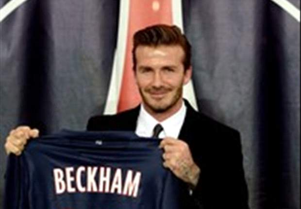 Ibrahimovic: Beckham is the player Paris Saint-Germain need