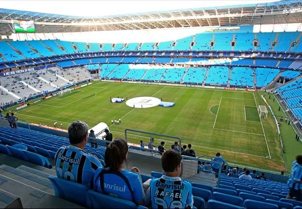 Grêmio x Caracas será na Arena