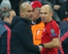Robben 'sad' over Guardiola exit