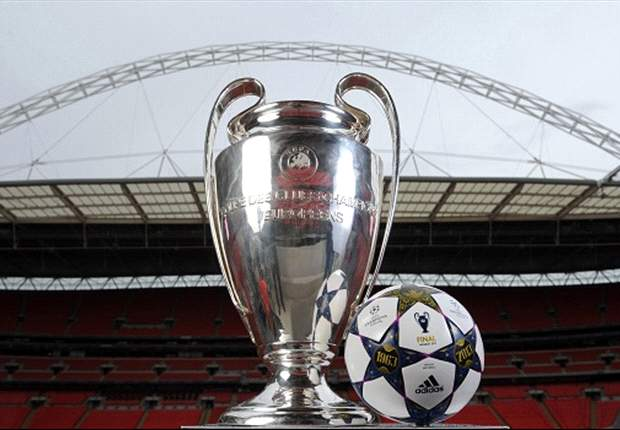 Uefa unveils Wembley-inspired Champions League final ball