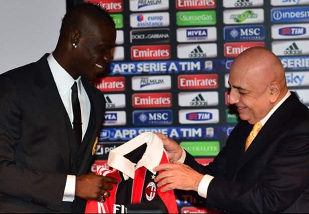 Polemiche, video e bollicine: la presentazione di Balotelli al Milan è un grande show...
