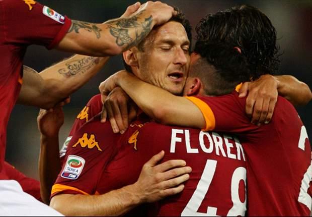 La nuova Roma di Andreazzoli: Pjanic fulcro del gioco, Totti prima punta. Giallorossi sotto torchio, da adesso vietato sbagliare ancora...
