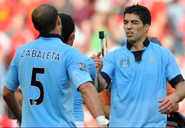 """Mancini: """"Suarez is een topspeler"""""""