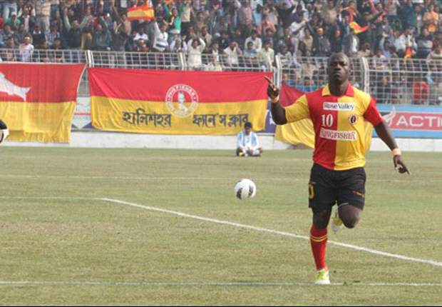 Pailan Arrows 1-2 East Bengal: The Red and Golds put up a resilient display to go top of the table