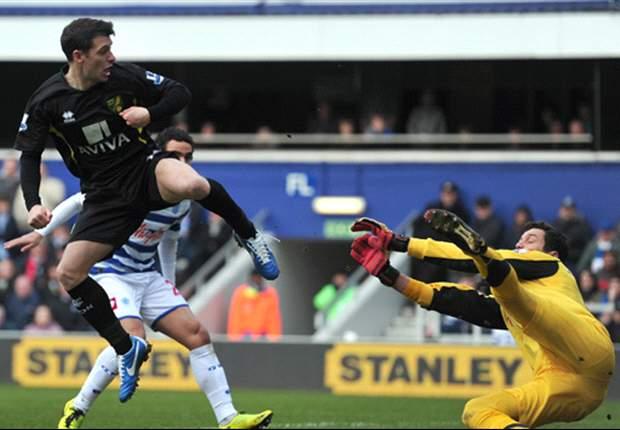 Júlio César brilha, mas QPR não sai do 0 a 0 com o Norwich