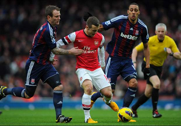 Laporan Pertandingan: Arsenal 1-0 Stoke City