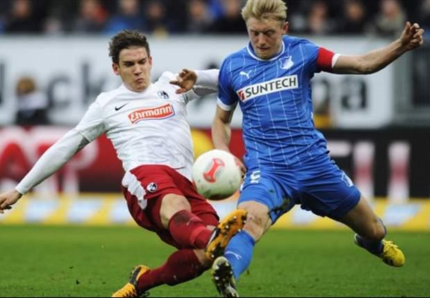 Vollands Doppelpack entscheidet für Hoffenheim das Baden-Derby