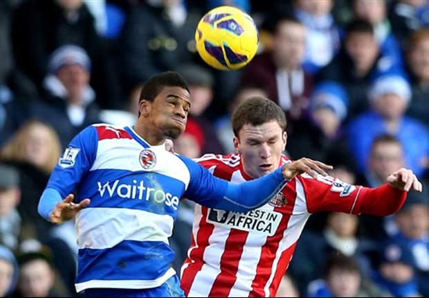 Reading 2-1 Sunderland: Kebe double hands hosts vital three points