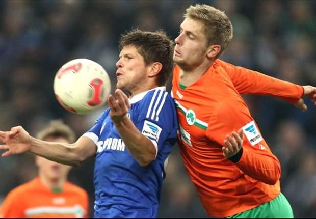 Schalke onderuit, geslaagd debuut Gomes