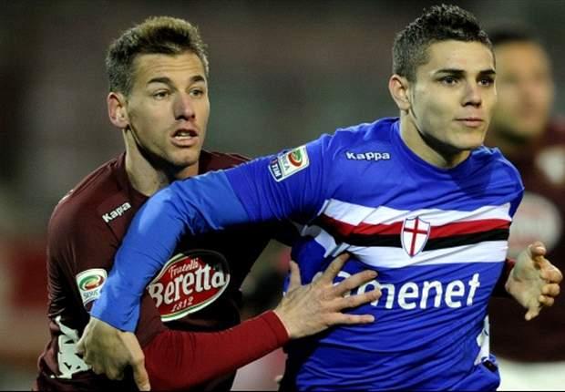 Punto Sampdoria - A Torino vince la noia, un punto per uno non fa male a nessuno