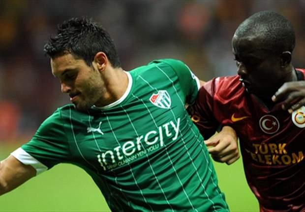 Galatasaray niet voorbij Bursaspor