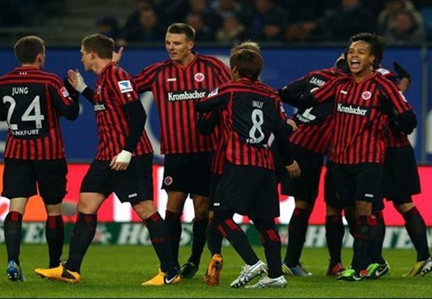 Glänzendes Lakic-Comeback - Hamburger SV verliert 0:2 gegen Eintracht Frankfurt
