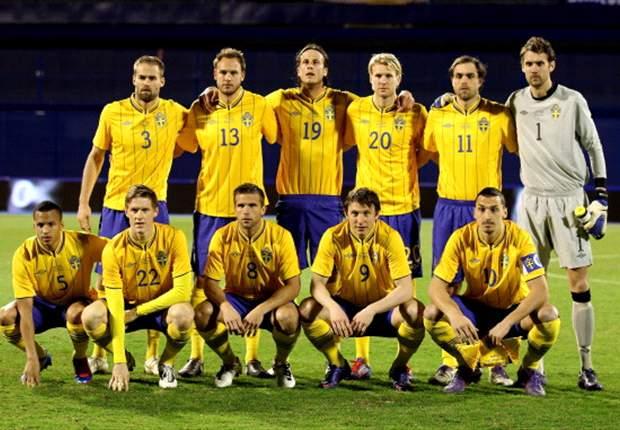 Los convocados de Suecia para enfrentar a la Argentina