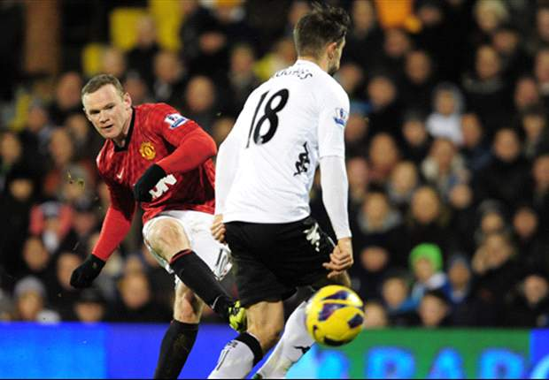Fulham 0-1 Manchester United: Rooney helps open up 10-point gap at the top