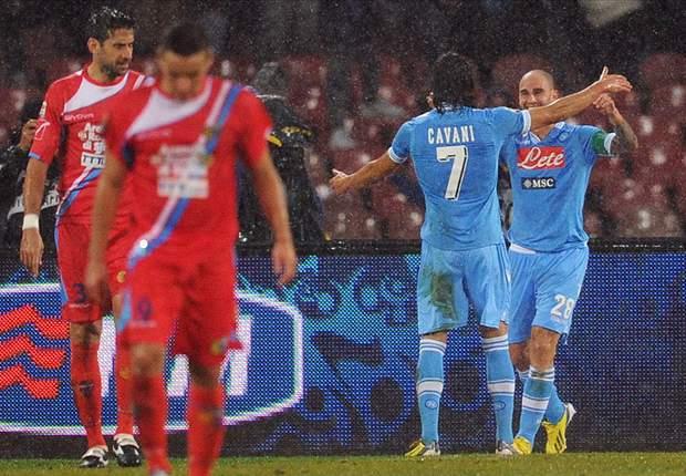 """Il Catania cade al San Paolo, il j'accuse dell'ad Gasparin: """"Risultato condizionato, noi danneggiati come contro la Juve"""". Intanto Pulvirenti fa chiarezza su Marchese..."""