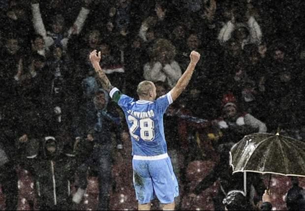 """Che euforia in casa Napoli, ci pensa capitan Cannavaro a calmare gli animi: """"Ad oggi siamo l'anti-Juve, ma attenzione alla prossima giornata..."""""""