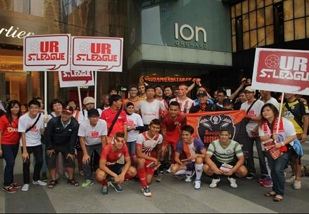 S.League 2013 Fan Fare at Orchard Road