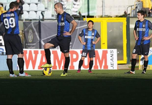 Misère Inter neemt toe, Lazio verliest