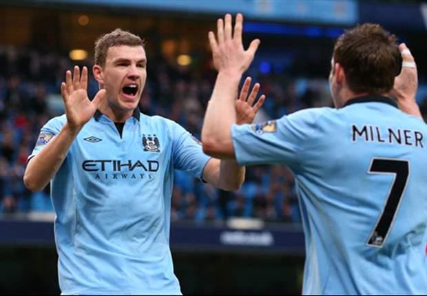 'I love the Bundesliga and I will return', says Manchester City striker Dzeko